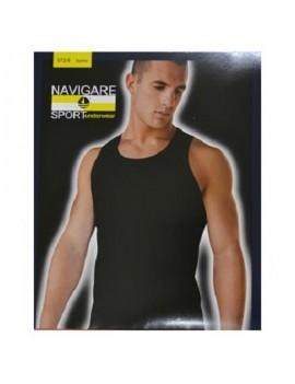 Vogatore/canotta uomo spalla Navigare sport underwear 572/s cotone bielastico soft