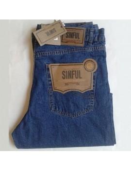 Jeans leggero uomo Sinful vestibilità regolare